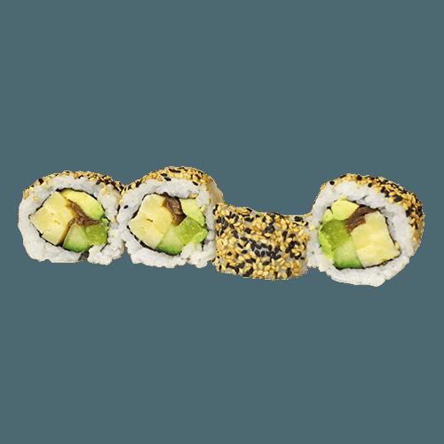 Uramaki veggie 4 stuks