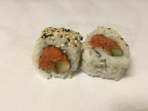 Uramaki spicy tuna 4 stuks