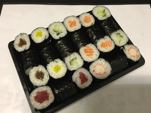 Yokohama menu 24 stuks