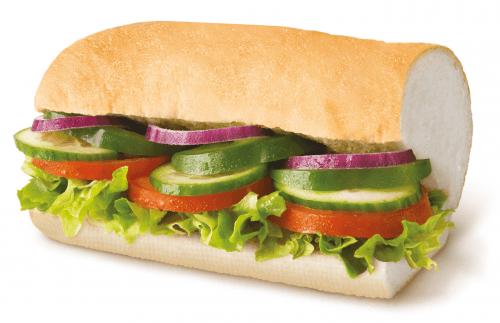 Veggie Delite™ 30cm menu