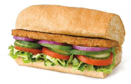 Vegan Patty 30cm menu