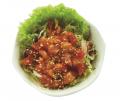 Spicy sashimi salade