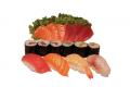 Menu D, sushi en sashimi mix