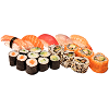 Menu E, sushi mix
