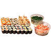 Menu H, sushi mix