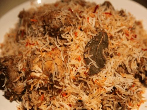Chicken Burhani