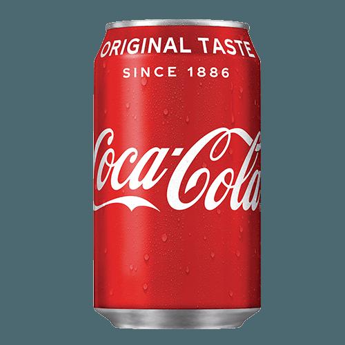 Coca-Cola regular 33cl blik