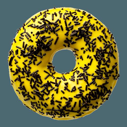 Banana dark sprinkles