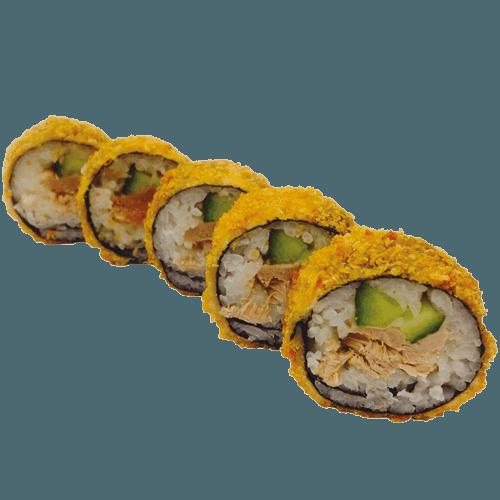 Fried crispy tuna