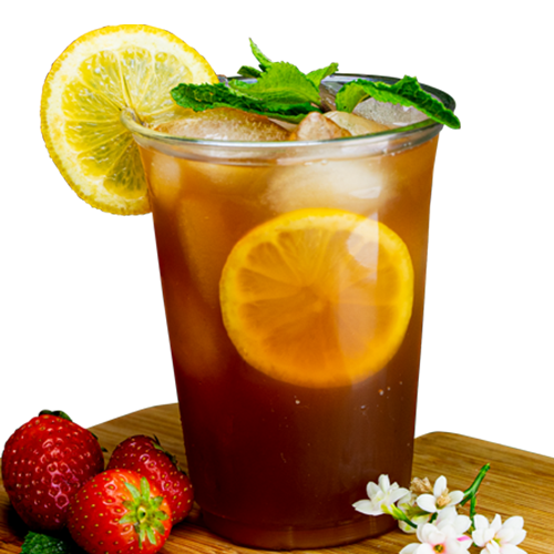 Aardbei thee