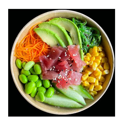 Poke bowl spicy tuna
