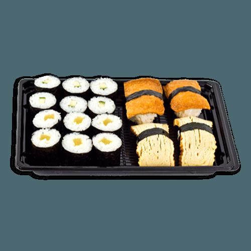 Sushi set 2 mix maki/nigiri 16 stuks