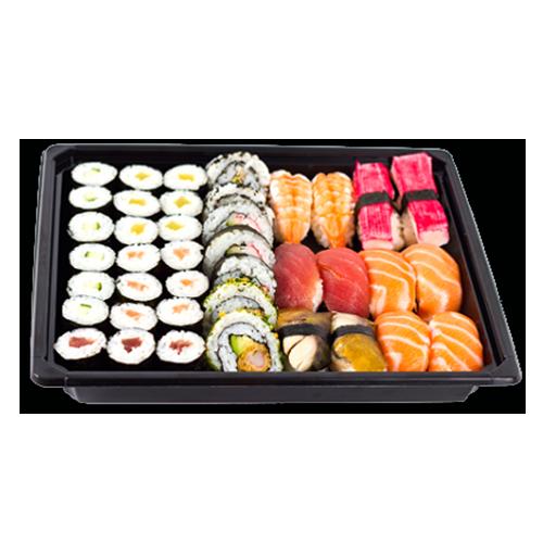 Sushi set 5 box maki/nigiri 40 stuks
