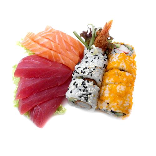 S4 sashimi en maki mix