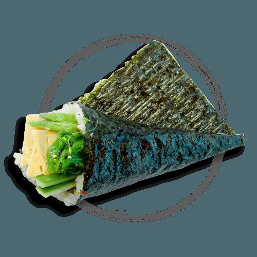 Vegetarian Handroll
