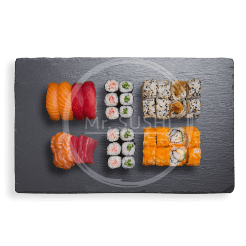 Sushi Sashimi Deluxe (Box A), 38 stuks