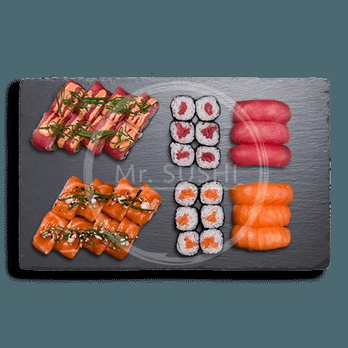 Salmon tuna deluxe
