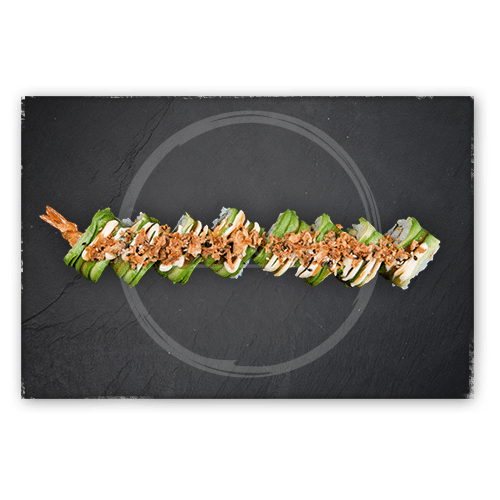 Soft shell ebi roll