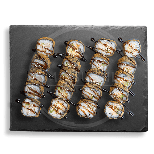 Crispy box 20 stuks (gefrituurde sushi)