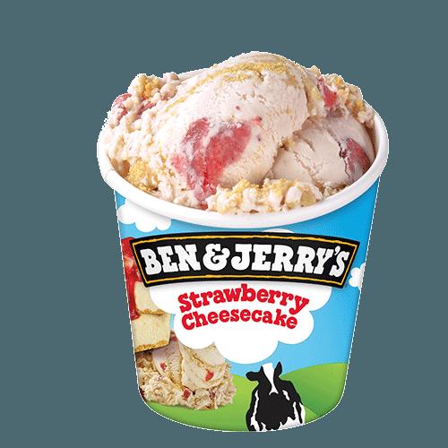 Ben & Jerry's Strawberry Cheesecake 465ml