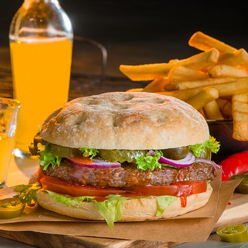 Hot chili burger menu