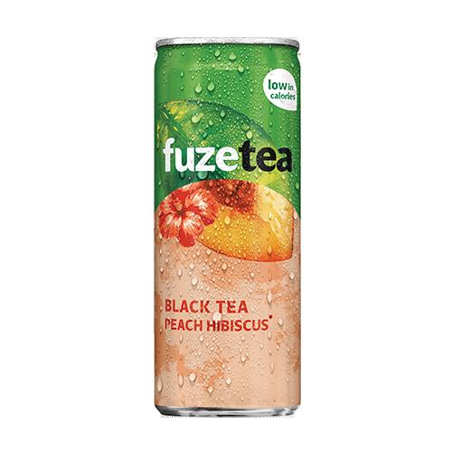 Fuze Tea Black Tea Peach 25cl