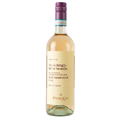 Pasqua Pinot Grigio Delle Venezie rosé wijn