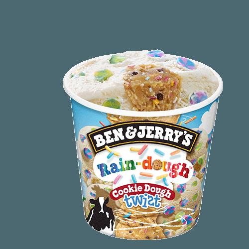 Ben & Jerry's Rain-dough Cookie Dough Twist 465ml