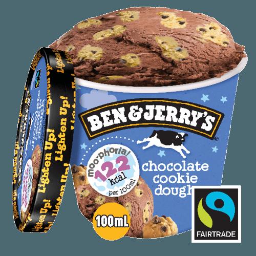 Ben & Jerry's Moo-phoria Chocolate Cookie Dough 100ml