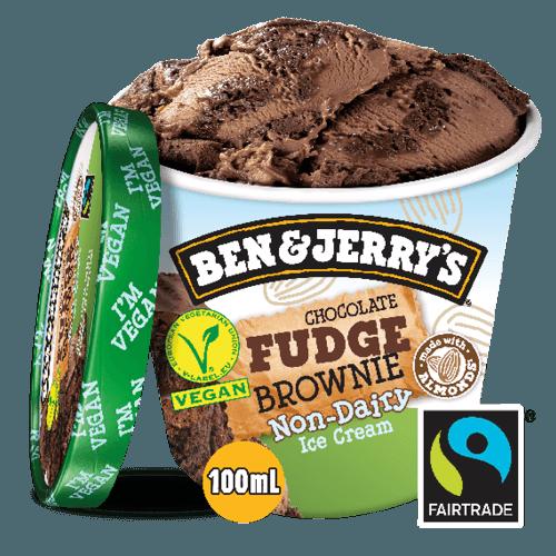 Ben & Jerry's Non-Dairy Chocolate Fudge Brownie 100ml
