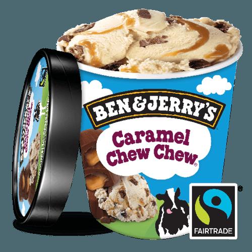 Ben & Jerry's Caramel Chew Chew 500ml