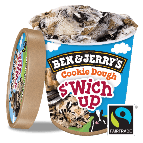 Ben & Jerry's Cookie Dough S'wich Up 500ml