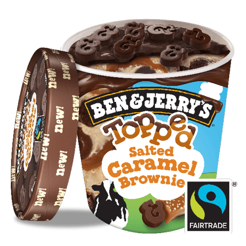 Ben & Jerry's Topped Salted Caramel Brownie 500ml