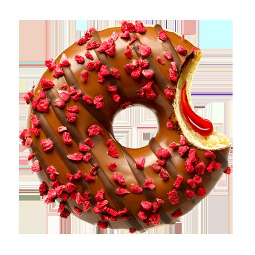 Donut Raspberry Bliss