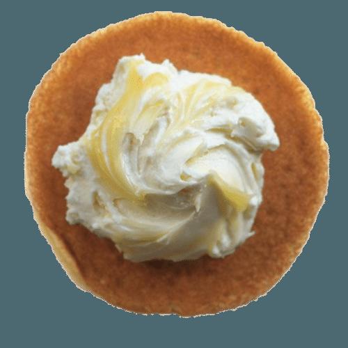 Dorayaki citroen cheesecake