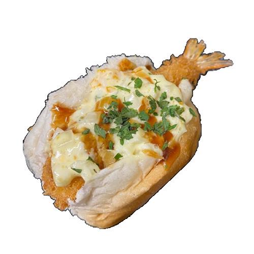 Ebi-fry broodje