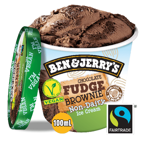 Ben & Jerry's Chocolate Fudge Brownie Non-Dairy 100ml
