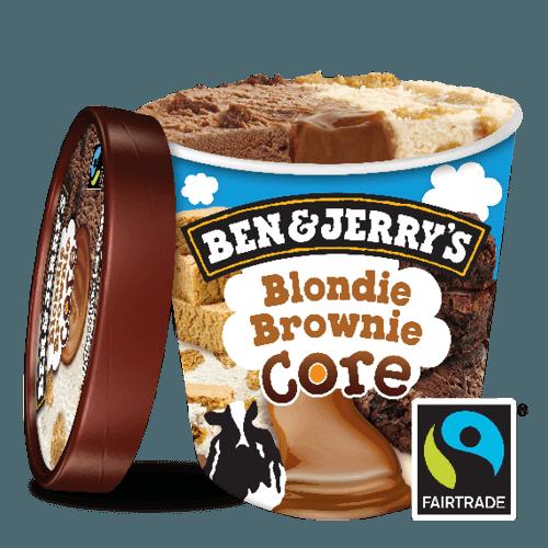 Ben & Jerry's Blondie Brownie Core 500ml