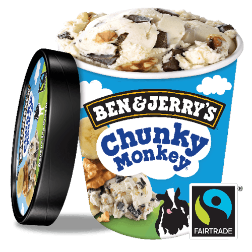Ben & Jerry's Chunky Monkey 500ml