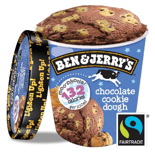 Ben & Jerry's Chocolate Cookie Dough Non Dairy 500ml