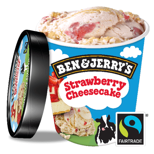 Ben & Jerry's Strawberry Cheesecake 500ml