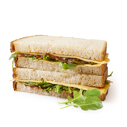 Sandwich sweet and cheese