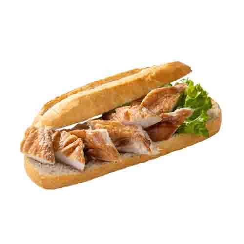 Broodje gerookte makreel
