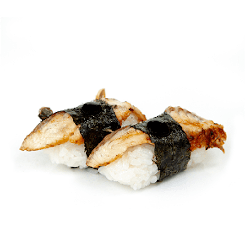 Flamed Unagi Nigiri