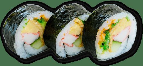 Futo Maki 3 stuks