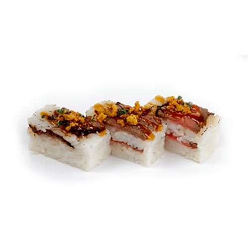 Oshi-Sushi Beef