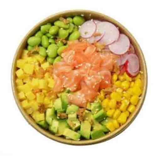 P01. Poke Bowl Salmon